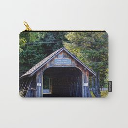 Will Henry Stevens Covered Bridge Carry-All Pouch