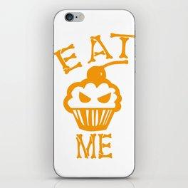 Eat me yellow version iPhone Skin