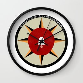 The Handmaid's Tale - Nolite Te Bastardes Carborundorum Wall Clock