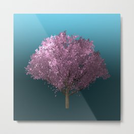 Sakura tree Metal Print