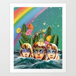 Future Islands Art Print