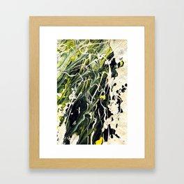 Number_7 Framed Art Print