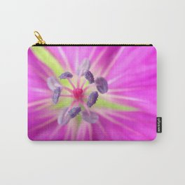 Pink/Purple Macro Carry-All Pouch