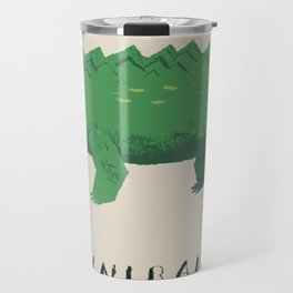 croc cannibalism Travel Mug