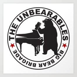 The UnBearables Art Print