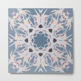 Colors of Winter - Mosaic Metal Print