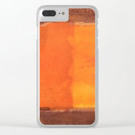 color abstract 6 Clear iPhone Case