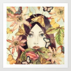 Whispers From A Secret Garden Art Print