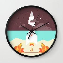 High Spirits Wall Clock