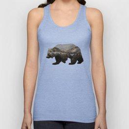 The Kodiak Brown Bear Unisex Tank Top
