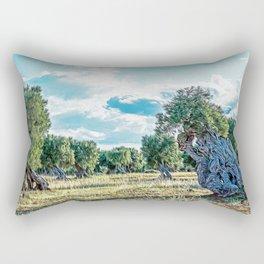 Countryside of Ostuni Rectangular Pillow