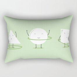 Hula-Hoop Champion Rectangular Pillow