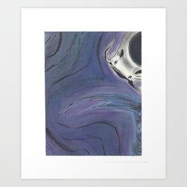 Yin and Yang Koi (1 of 3) Art Print