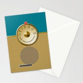 the Nakashuma Mark 3 in Teal Stationery Cards
