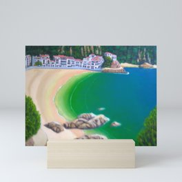 Landscape maresme Mini Art Print