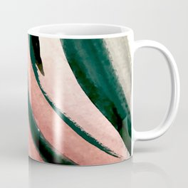 Spring in the City - a pretty mimimal watercolor abstract piece in pinks and greens Coffee Mug