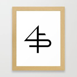 ___45____ Framed Art Print