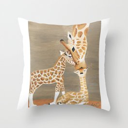 Linked by Love Throw Pillow