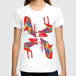 Graphic Elk Moose 01 Swedish Dala Mix T-shirt