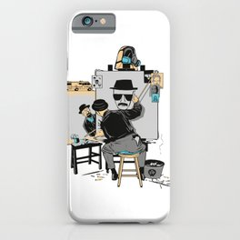 Heisenberg Self Portrait iPhone Case