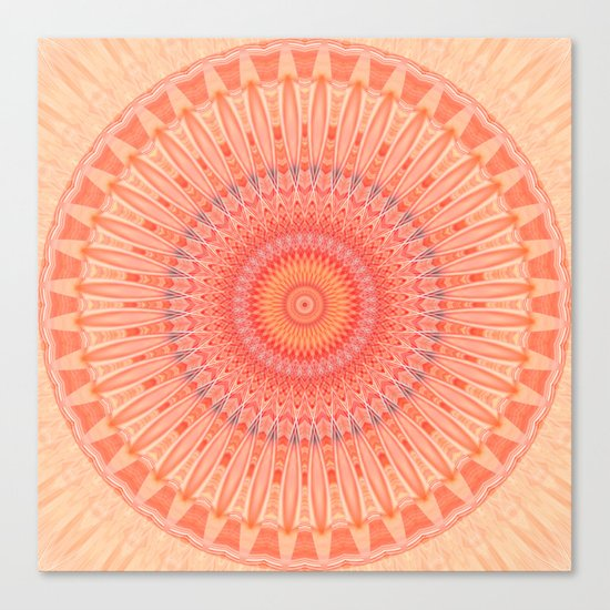 Mandala mental health Canvas Print