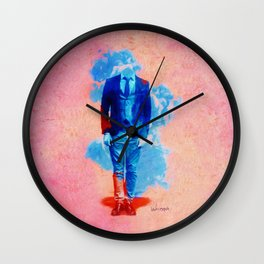 The Vanishing Act Wall Clock
