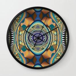 Fall inspired abstract Wall Clock