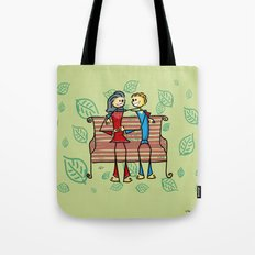 Life and living Tote Bag