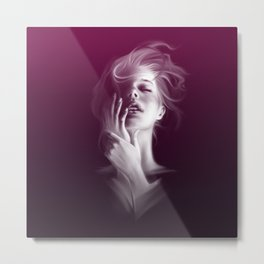 Femme Fatale - Lady Pleasure Metal Print