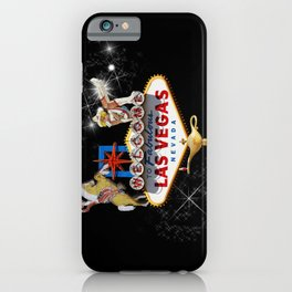 Las Vegas Welcome Sign iPhone Case