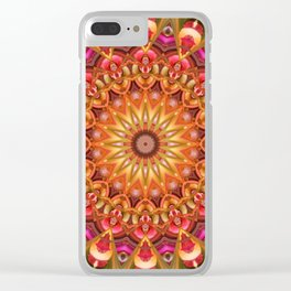 Dreaming in Color Mandala Clear iPhone Case