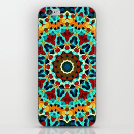 Geometric ornament iPhone Skin