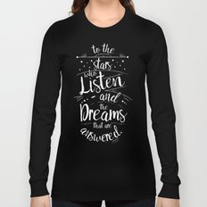 ACOMAF- To the Stars Who Listen And the Dreams that are Answered Long Sleeve T-shirt