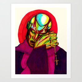 In Dio Confido Art Print