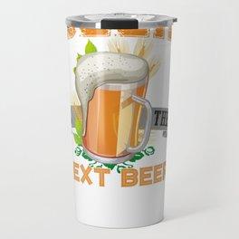 Beer, Beer Drinking Pullover Hoodie Travel Mug