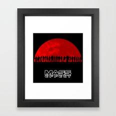 Mass Effect Framed Art Print