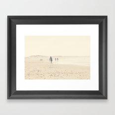 surfing life II Framed Art Print