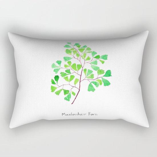 Maiden hair fern Rectangular Pillow