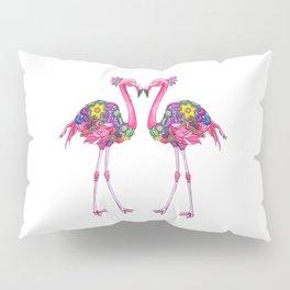 Fancy Felicity Flamingo Pillow Sham