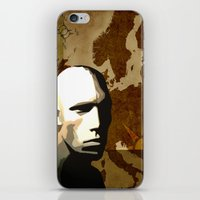 travel poster iPhone & iPod Skins featuring Travel Poster by ben_biddiscombe