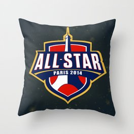 All-Star Paris 2014 League of Legends Throw Pillow