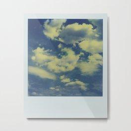 Instant Series: Clouds Metal Print