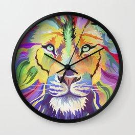 King of Technicolor II Wall Clock