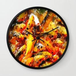 Carp Fest Wall Clock