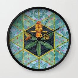 Honey Queen Wall Clock