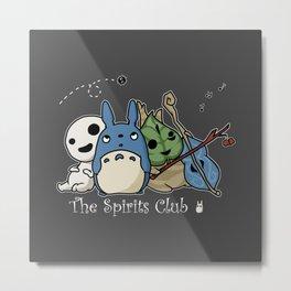 The Spirits Club Metal Print
