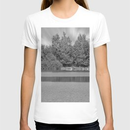 Boats at a lake T-shirt