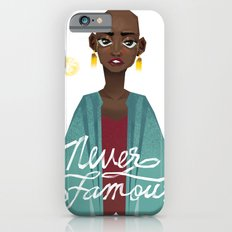 Never Famous iPhone 6s Slim Case