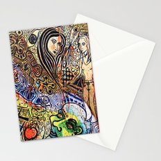 apple and serpent Stationery Cards