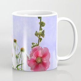 Summer flowers against a blue sky Coffee Mug
